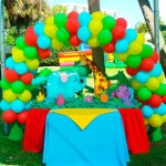 Balloon Arch Animal Decoration