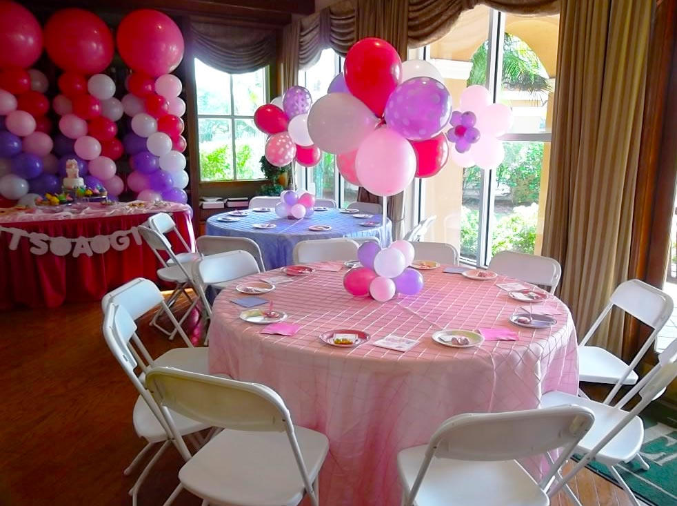 School parties for Baby birthday decoration ideas