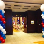 Balloons Columns Miami Party Decorations