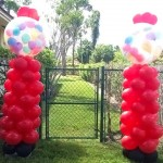 Bubble Balloon Columns