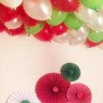 Chritmas Helium Balloons
