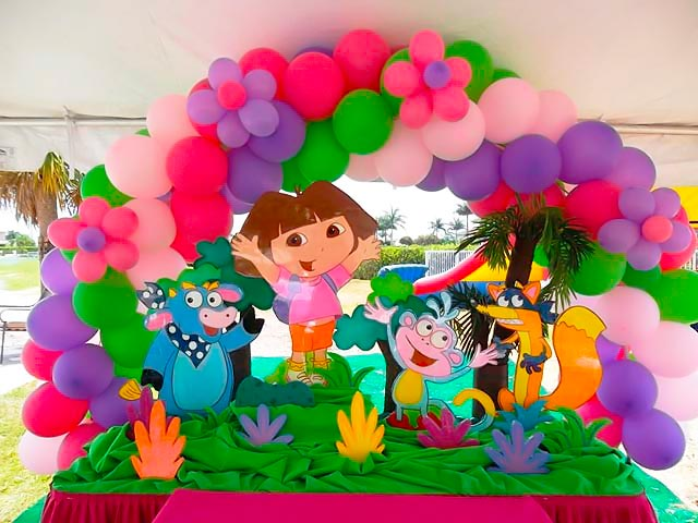 Dora Birthday Wall Decoration : School parties