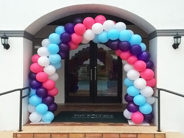 Balloon arches for Balloon arch decoration ideas