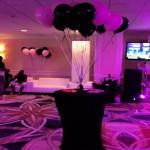 Helium Balloons Centerpiece