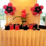 Ladybug Flavors Table Party Decorations
