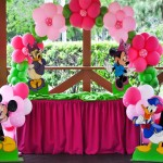 Minnie Balloon Arch Party Decoration
