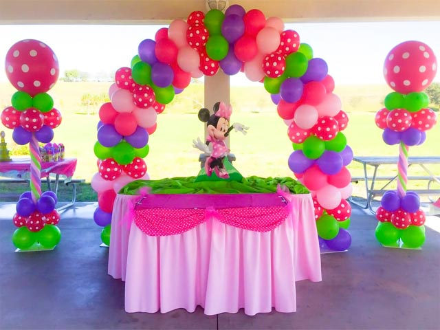 Balloon centerpieces for Balloon decoration for birthday party