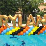 Pool Helium Balloons