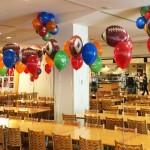 Super Bowl Helium Balloons
