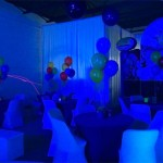 White Helium Centerpieces