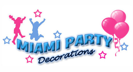 Miami Party Decorations