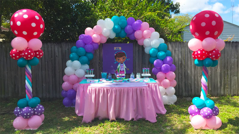Party Decorations Miami Balloons